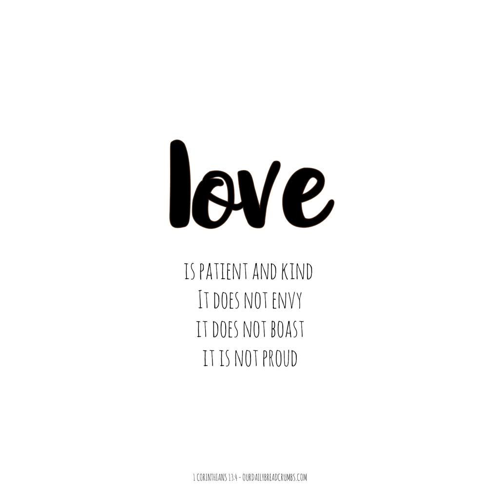 Corinthians Love Quotes 1 Corinthians 134  Ourdailybreadcrumbs